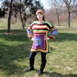 """Cum se croșetează un pulover folosind pătratul tradițional solid """"Granny"""""""