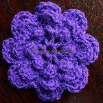 Cum se croseteaza o floare de artamanuala.com